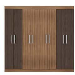 Closet 8 Puertas Bristol Bicolor