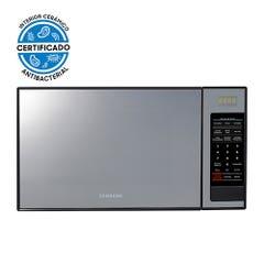 Microondas Espejado Samsung con Esmalte Cerámico, 32 L, ME0113MB1/XZS