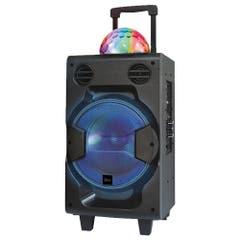 Parlante Bola Disco Bluetooth con Micrófono