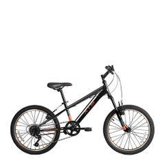 Bicicleta XTS Niño Mountain Bike Emerge  Aro 20 - 6 Velocidades Negra