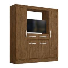 Closet 4 Puertas 2 Cajones Arica M302 Texturado