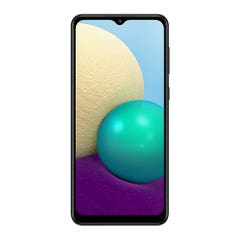 Smartphone Galaxy A02 (SM-A022MZKJCHO) 32 GB 6,5 Pulgadas Negro