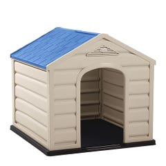 Casa para Perro Rimax Grande RX11519 Techo Azul