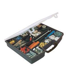 Caja Organizadora de Herramientas San Bernardo SB024 36 cm Negro