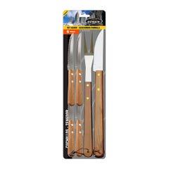 Set de Cuchillos para Asado Outback 6 Piezas BBQ-6P