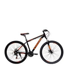Bicicleta MTB Vision Krypton Aro 29 Negra/Naranja