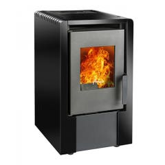 Calefactor a Pellet Amesti Italy 6100 Negro Satinado