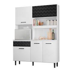 Kit Cocina Exit Athenas Blanco/Negro