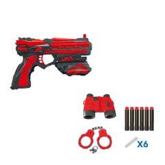 Pistola Lanza Dardos Evergroup con Accesorios