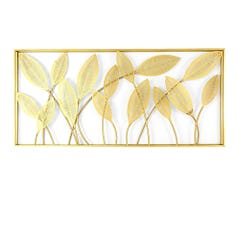 Cuadro de Pared Decorativo Ankara Store Hojas Curvas A5019