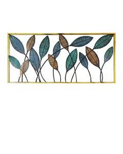 Cuadro de Pared Decorativo Ankara Store Hojas Curvas A5022