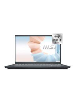 """Notebook MSI NT000MSI87 14"""" Intel Core i3 10th Gen 8 GB 256 GB SSD"""