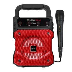 Karaoke MLAB My Lil First Sing con Mic Cable 8897 Rojo