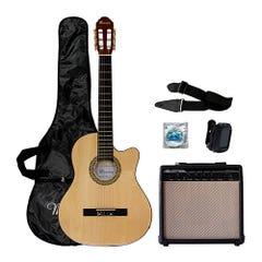 Pack de Guitarra Acústica Mercury MAC01 Natural