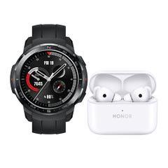 Bundle Honor Watch GS Pro Black + Earbuds 2 Lite White