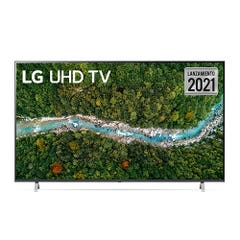 """LED LG 50"""" 4K UHD AI ThinQ Smart TV 50UP7750PSB 2021"""