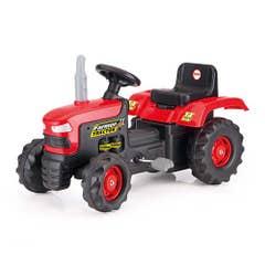 Tractor Con Pedales Dolu Rojo
