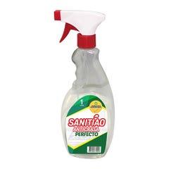 Antigrasa Sanitiao 8 Botellas 1 Litro con Atomizador