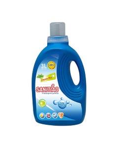 Detergente Líquido Sanitiao 12 Litros 4 Bidones de 3 Litros