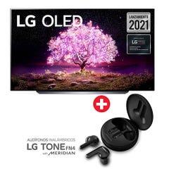 "OLED LG 55"" UHD Smart TV OLED55C1 + Audífono FN4"