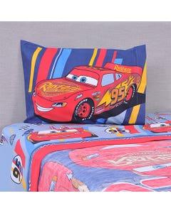 Sábana Disney 1,5 Plazas Cars Speed