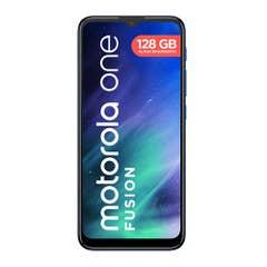 Celular Moto One Fusion 128GB Blue Wom