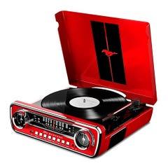 Tornamesa Mustang LP ION Roja
