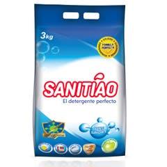 Detergente en Polvo Sanitiao 3 Kilos 4 Unidades