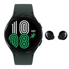 Smartwatch Samsung SM-R870NZGALTA Verde + Audífonos Galaxy Buds Plus Negro