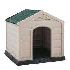 Casa para Perro Rimax Grande RX10805 Techo Verde