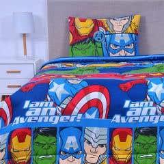 Plumón Avengers All  1,5 Plazas Rell. 200 gr