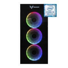 PC Gamer Pegasum ERICE Serie IRX560BSB Intel Core I5-9400F, 16GB RAM, 256GB (SSD) y 1TERA (HDD)