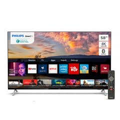 "LED Philips 58"" 4K Smart TV 58PUD7625"